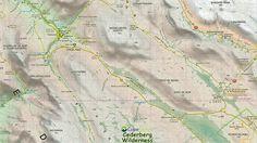 Image result for cederberg tourist map Tourist Map, Image