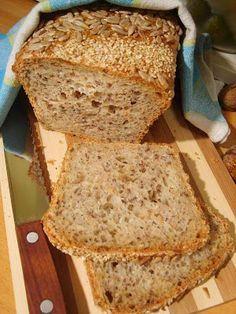 Twoje&Moje: Chleb wieloziarnisty z chrupiącą skórką. Najłatwiejszy. Najpyszniejszy.