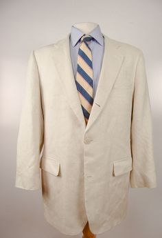 Brooks Brothers ivory jacket.