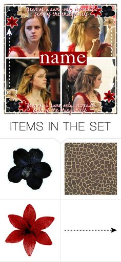 """""""hermione granger open icon // tonks"""" by dont-let-muggles-get-you-down ❤ liked on Polyvore featuring art"""
