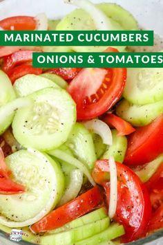 Cucumber Recipes, Veggie Recipes, Appetizer Recipes, Salad Recipes, Vegetarian Recipes, Cooking Recipes, Healthy Recipes, Cucumber Ideas, Recipes With Cucumbers