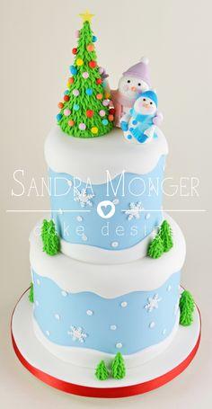 Xmas Cake Decorating Books : 1000+ images about Christmas Cakes on Pinterest ...