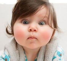 Sweet baby face..what do you mean we're out of Apple juice?