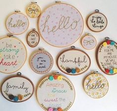 Embroidery Machine Rent To Own. Embroidery Designs For Onesies so Embroidery Hoop Felt Art it is Miami Hurricanes Embroidery Designs even Embroidery Near Me No Minimum Embroidery Hoop Art, Cross Stitch Embroidery, Embroidery Patterns, Sewing Crafts, Sewing Projects, Cross Stitching, Needlework, Weaving, Crafty