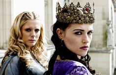 Morgause and Morgana in Merlin.