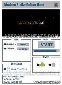 Modern Strike Online Hack, Cheats & Tips for Gold Coins & All Items Unlock  #Action #ModernStrikeOnline #Popular http://appgamecheats.com/modern-strike-online-hack-cheats-tips/