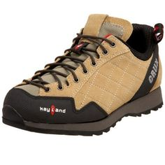 Kayland Women's Crux Grip Approach Shoe,Desert,8.5 M US by Kayland. $52.99. Vibram Friction outsole; Shock absorbing microporous midsole; Extended traditional lacing; Action leather toe bumper; suede; Three dimensional mesh lining. Amazon.com                Designed for multi-activity use, Kayland's Crux is built for comfort and performance. Its quilted suede upper protects and insulates, its moisture-wicking mesh lining keeps you cool and dry, and its removable cushione...