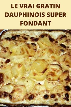 Today, I present to you the real Gratin Dauphinois recipe. The one you learn in cooking schools. A sublime, excellent gratin, melting at will. Gratin Dauphinois Rezept, Cheese Soup, Macaroni And Cheese, Kohlrabi Gratin, Best Scalloped Potatoes, Surprise Recipe, Soup Recipes, Cooking Recipes, French Crepes