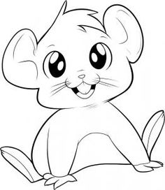 Dragoart Coloring Pages Cute Animals Colori
