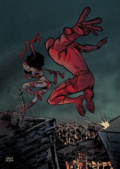 Daredevil Matt Murdock, Daredevil Punisher, Elektra Natchios, Marvel Comics Art, Hells Kitchen, Cultura Pop, The Man, Comic Art, Character Art