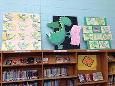 Apex Elementary Art: artwork inspired by poetry