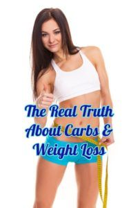 Will eating carbs really pack on the pounds and prevent your from losing weight?  Click the link to the left for the facts on carbs:  http://www.bestwomensworkoutreviews.com/the-real-truth-about-carbs-weight-loss