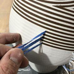 #masking #ceramics #pottery #vase #vessel