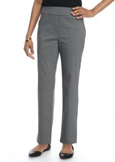 Alfred Dunner  Petite Theater District Proportioned Medium Slim Pants