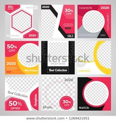 Anyone can use This Design Easily.Promotional square web banner for social media. Elegant sale and discount promo - Vector. Banner Design Inspiration, Web Banner Design, Web Banners, Design Ideas, Social Media Poster, Social Media Banner, Advertising And Promotion, Online Advertising, Magazine Ideas