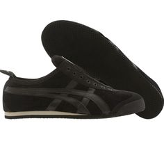 Asics Onitsuka Tiger Womens Mexico 66 Slip On (black / black tan) D2R8N-9062 - $74.99