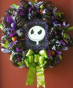 Hey, I found this really awesome Etsy listing at https://www.etsy.com/listing/457303246/the-nightmare-before-christmas-wreath