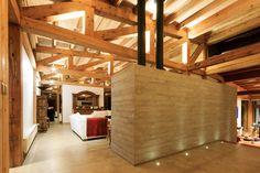 Image 14 of 34 from gallery of Las Escaleras Country House / Prado Arquitectos. Photograph by Daniel Pinilla Prado, Interior Decorating, Interior Design, Decorating Ideas, Home Reno, Cozy House, Chile, Rustic, Architecture