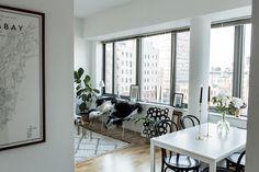 My black and white livingroom