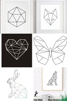 Geometric Decoration Draw – Trend Decor for You! Cool Art Drawings, Pencil Art Drawings, Easy Drawings, Geometric Decor, Geometric Designs, Geometric Drawing, Tape Art, 3d Pen, Ideias Diy