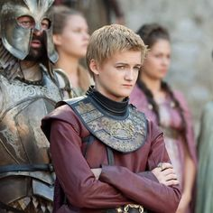 King Joffrey is a douche...but he's kind of adorable at the same time...
