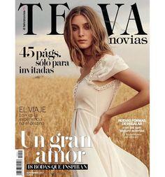 Descubre en el blog de Beatriz Alvaro todos los detalles del vestido de novia portada de Telva Novias