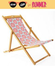 Gear Up for Summer: Serena & Lily Slingback Beach Chair | CoastalLiving.com