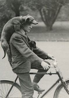Interesting Vintage Photos Prove That Dogs Are Always Best Friends of Men