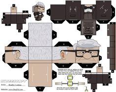 1x1.trans Bonecos para Montar em 3D: Personagens para Imprimir, Recortar e Colar