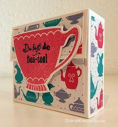 Du bist die Bes-tee Tee Verpackung Stampin up