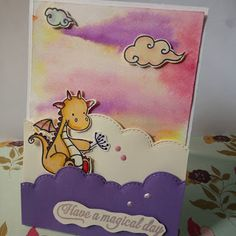 AlliElla Craft: Dragon card