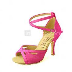 Testreszabható - Egyedi sarok - Szatén - Latin/Salsa - Női 4117242 2016 – €48.99 Sandals, Shoes, Fashion, Moda, Shoes Sandals, Zapatos, Shoes Outlet, Fashion Styles, Shoe