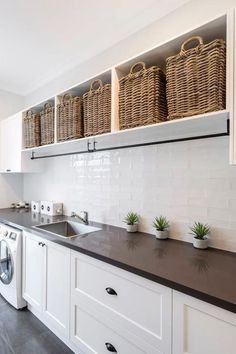 39 Perfect Laundry Room Designs Ideas For Small Space. Nice 39 Perfect Laundry Room Designs Ideas For Small Space. The laundry room is considered to be the smallest room in the house and it is also very useful to […] Laundry Room Shelves, Farmhouse Laundry Room, Small Laundry Rooms, Laundry Storage, Laundry Room Organization, Diy Storage, Storage Shelves, Storage Ideas, Organization Ideas