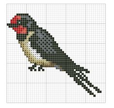 Kreuzstich Cross Stitch Letters, Mini Cross Stitch, Cross Stitch Needles, Cross Stitch Animals, Modern Cross Stitch Patterns, Counted Cross Stitch Patterns, Cross Stitch Designs, Cross Stitch Embroidery, Free Cross Stitch Charts