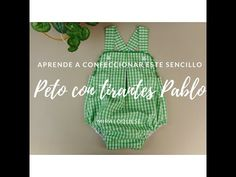 🌿Ya tenéis nuevo tutorial, y huele a primavera 🌿♥️ Sewing Baby Clothes, Baby Sewing, Sew Baby, Pet O, Craft Tutorials, Smocking, Make It Yourself, Knitting, Blog