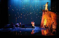 2009 University of Oregon production of Metamorphoses.