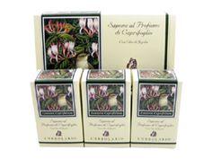 Caprifoglio (Honeysuckle) Perfumed Soap Bar Collection by LErbolario Lodi (3 - 3.5oz Soap Bars)