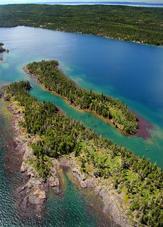 Isle Royale in Lake Superior, Michigan Our only National Park