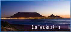 Cape Town, South Africa and the stunning Table Mountain