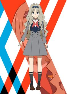 Take a look at the unique designs of the main characters in Trigger and Pictures upcoming Sci-Fi collaborative anime DARLING in the FRANKXX. Anime Titles, Anime Characters, The Kingdom Of Magic, Mysterious Girl, Anime Qoutes, Wallpaper Naruto Shippuden, Zero Two, Darling In The Franxx, Kokoro