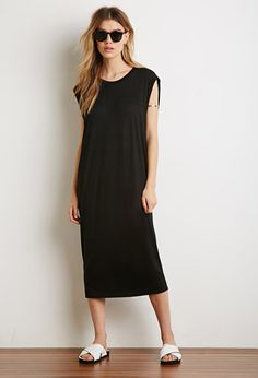 Cutout-Back Shift Dress | Forever 21 - 2000154982  ON A VERY HOT DAY!  20.00