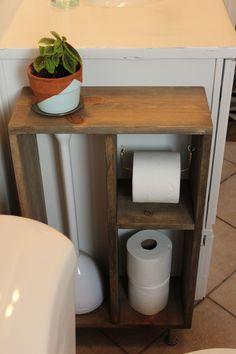 DIY Side Vanity Storage Unit