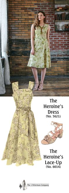 90b3560b177 The Heroine s Dress (No. 5621). Lightweight 100% cotton voile in deliciously