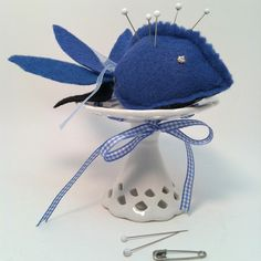 Make a Cute Fish Pincushion
