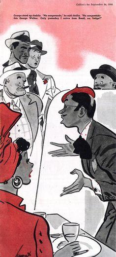 Collier's magazine Illustrated by Earl Oliver Hurst September 1942