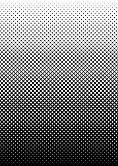 Black and white screen-tone style gradient by mrcentipede.deviantart.com on @DeviantArt