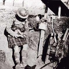 A Highlander as sent
