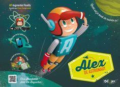 Alex de astronaut