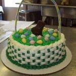 two color basket weave and borders, i wish i was this talented in cake decorating