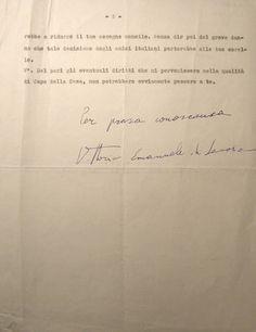 Lettera di Umberto II al figlio del 25 gennaio 1960 - foglio 3